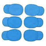 SUPVOX 6 Stücke Amblyopie Augenklappe für Brille Kinder Augenklappe Behandeln Faules Auge Und Strabismus für Kinder (Blau)
