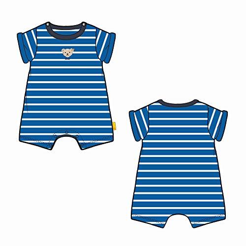Steiff Baby-Jungen Spielanzug Spieler, Blau (Skydiver 6040), 86 (Herstellergröße: 086)