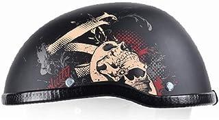 小さくてコンパクト オープンフェイスオートバイヘルメットヘルメット戦士ああ..