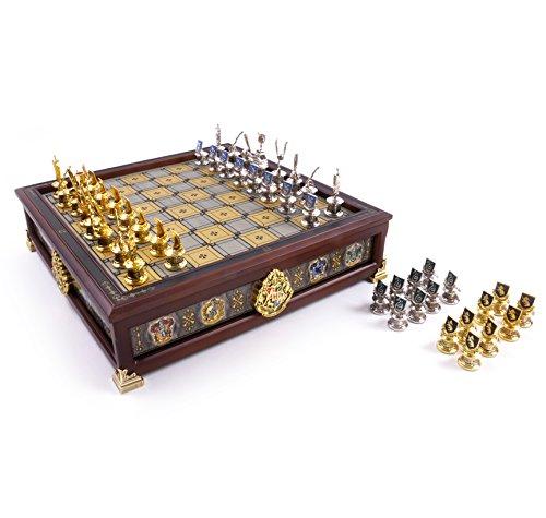 La Nobile Collezione Quidditch Chess Set Argento & Oro Placcato