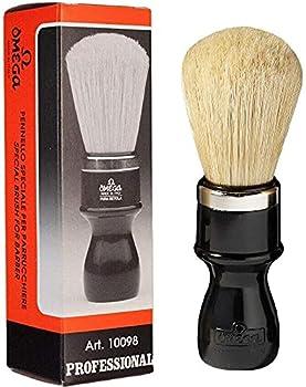 Omega Pure Bristle Shaving Brush 10098