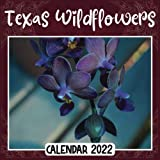 Texas Wildflowers 2022 Calendar: Texas Wildflowers mini calendar 2022 2023, Texas Wildflowers 2022 Planner with Monthly Tabs and Notes Section, Texas ... Square Calendar with 18 Exclusive Photos