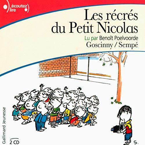 Les récrés du Petit Nicolas audiobook cover art
