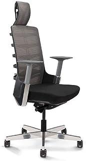 Mahmayi Spinelly High Back Ergonomic Mesh Chair Black