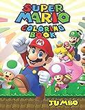 Super Mario JUMBO Coloring Book: 75 Illustrations for Kids