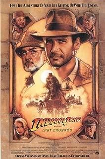 Indiana Jones Last Crusade Poster 27x40 Movie Poster