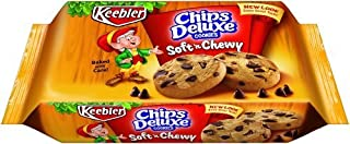 Keebler Soft?N Chewy Chips Deluxe Cookies, 14.8-Ounce (Pack of 4) by Keebler