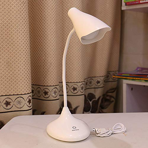 Tafellamp, touchscreen, 3 snelheden, bureaulamp met touchscreen, voor slaapkamer, voor kinderen, tafellamp, energiebesparend