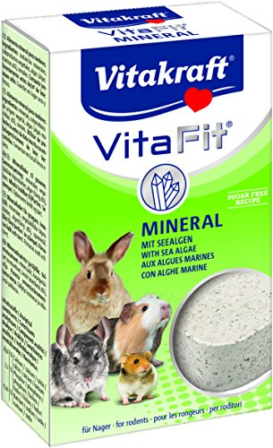 Vitakraft - 25030 - Vita Fit - Aliment Mineral pour Tous les Rongeurs - 170 gr