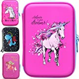 Unicorn Pencil Case for Girls 3D   Pencil Holder for Kids   Cute Pencil Pouch Large Pencil Box   Pink Pencil Bag with Compartments BPA Free