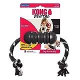 KONG® Extreme Dental con cuerda – Mediano