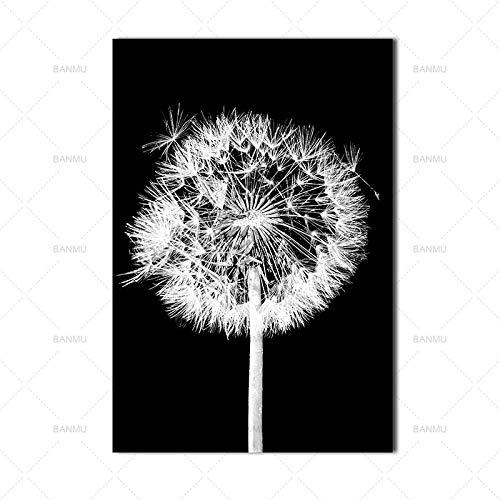 Poster Leinwanddruck Gravur Blume Natur Wandmalerei Wohnzimmer Art Deco Malerei 60X90cm