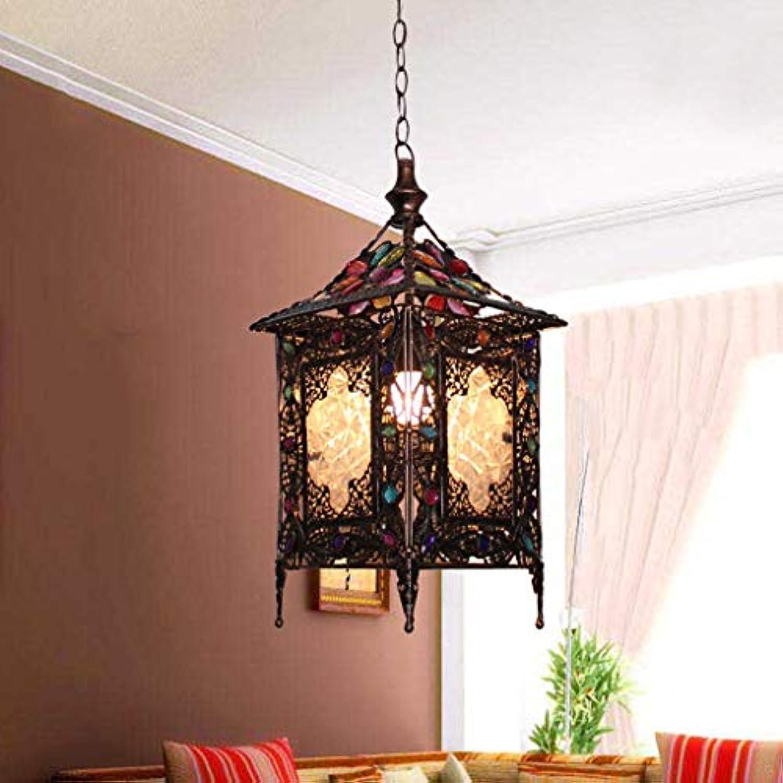 Unbekannt FEI Kronleuchter Kreative Kronleuchter Mediterrane Einzelkopf Bar Tischlampe Restaurant Warme Lichter