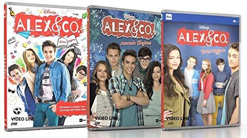Alex & Co. - Stagione 01-02-03 (7 DVD) Edizione Italiana