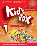 Kid's Box Level 1 Teacher's Book Updated English for Spanish Speakers Second Edition - 9788490363355