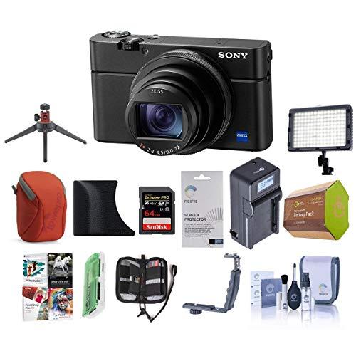 Sony Cyber-Shot DSC-RX100 VI Digital Camera, Black...