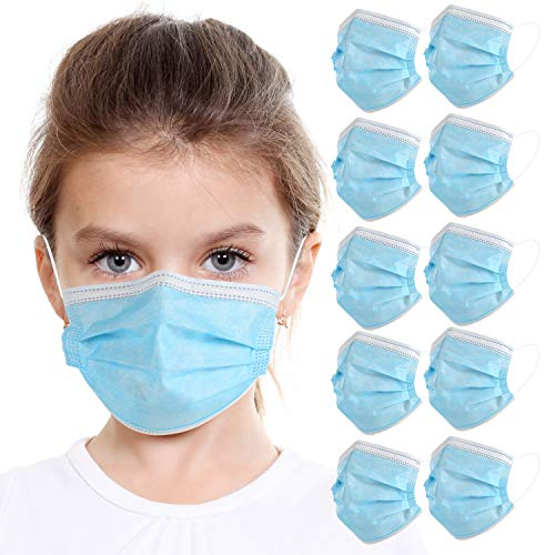 KARAEASY Bambini TipoIIR Medico Made Italy Tessuto non Tessuto purificazione aria spessore 3 livelli da 50 PEZZI