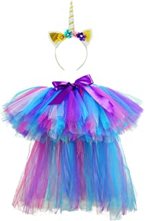 Princess Tutus with Train for Girls