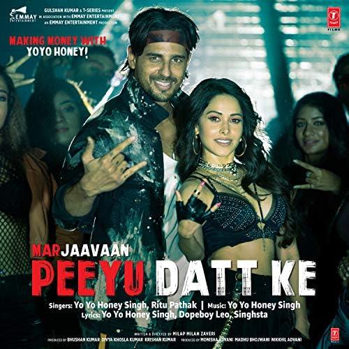 Yo Yo Honey Singh & Ritu Pathak