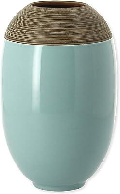 Bruno Evrard Astoria jarrón Verde Salvia en cerámica 27 cm – Robin
