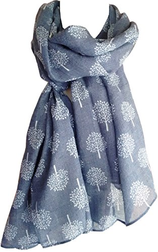 Mulberry Tree Print Scarf Womens...