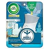 Air Wick® Aromatizante De Ambiente Continuo, Aroma Turquoise Oasis, Aparato Difusor Eléctrico Y Repuesto de 21 ml