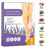 Best Foot Peels - Foot Peel Mask 3 Pack, Dry Dead Skin Review