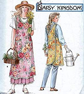 Simplicity Pattern 7481 Apron Daisy Kingdom Sewing Pattern