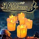 LED Flameless Votive Candles,Halloween...