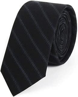 Classic Men's Tie/Striped Tie/Work Wedding Business 145 × 5.5cm Send Father, Husband, Friend Gifts MSJQQ (Color : E)