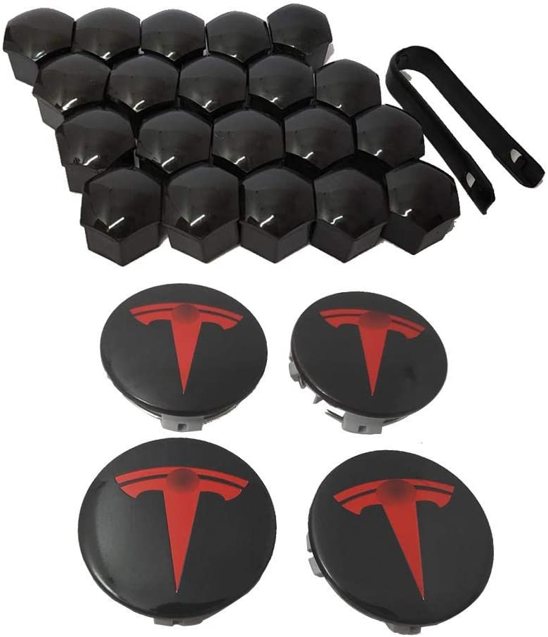 Aero Wheel Cap Kit for Tesla Model 3 /& S /& X