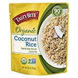 Tasty Bite Organic Coconut Rice, Microwaveable Cooked Rice, 8.8 Ounce (Pack of 6)