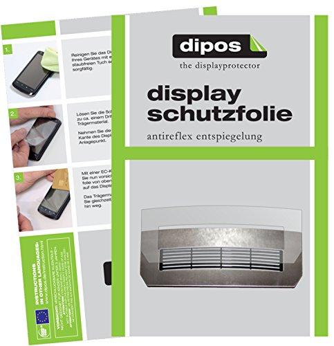 dipos I 2X Schutzfolie matt kompatibel mit Jura Z-Serie Z5 Z7 Z9 Tropfblech + Display Folie Displayschutzfolie