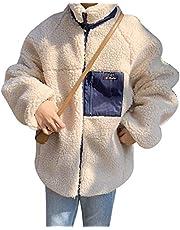 レディース ボアジャケット ボアコート アウターコート ブルゾン ボア もこもこ 防寒 カジュアル 冬 ゆったり アウトドア 暖かい