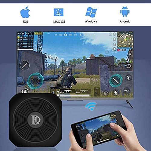 ATIN New WiFi Wireless Display Dongle TV Stick for Google chromecast Ultra 4K TV Stick Media Video Streamer HD for cromecast 3