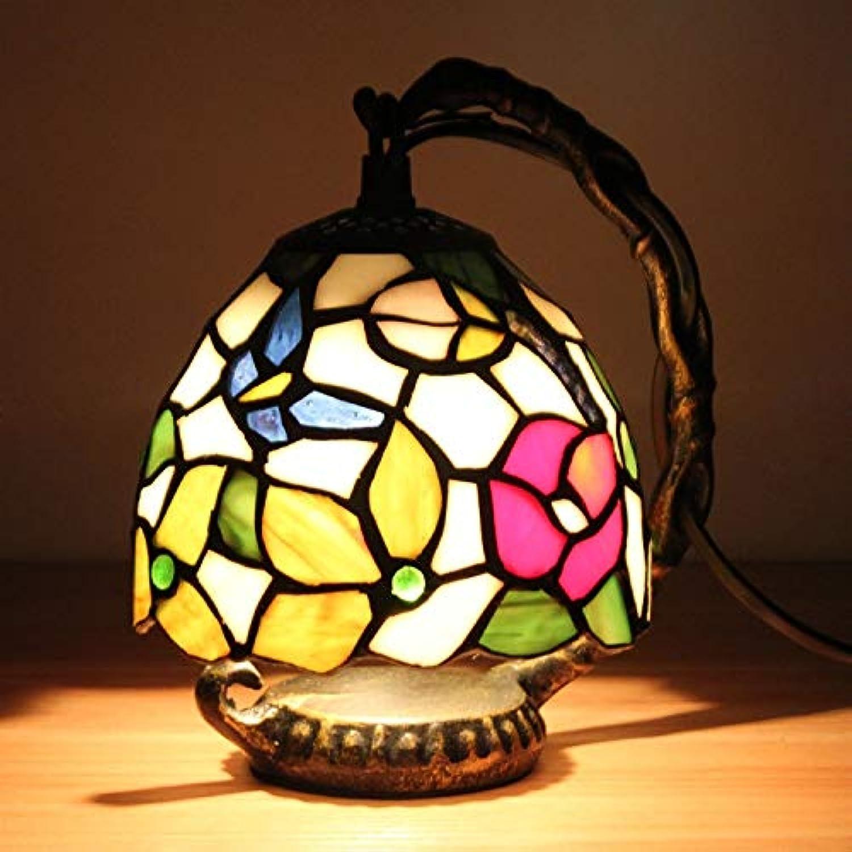 YCL Tischlampe Europische farbige dekorative tischlampe 5 Zoll romantische kreative Schmetterling led Schlafzimmer nachttischlampe licht fütterung nachtlicht dekorative tischlampe