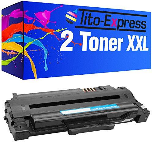 Tito-Express Platinum Series 2X tóner XXL para Samsung MLT-D1052L ML-1910 SCX-4600 SCX-4623 SF-650 ML2581N ML-1910K ML-1911 ML-1915 ML-1915DSP 1916K 2525 2540 2526 2580NK 2545 2580