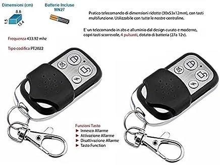 Mando a distancia universal adicional Alarma Antirrobo Inalámbrico GSM 433,92, 2