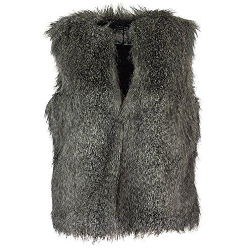 Sublevel Damen Weste, Farbe:Middle Grey;Größe:XL/XXL