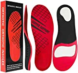 Plantar Fasciitis Arch Support Insoles for Men and Women Shoe Inserts - Orthotic Inserts - Flat Foot - Running Athletic Gel Shoe Insoles - Orthotic Insoles for Arch Pain High Arch(L)