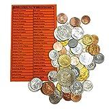 IMPACTO COLECCIONABLES Monedas - Colección de Monedas - 50 Monedas mundiales de 50 países Diferentes