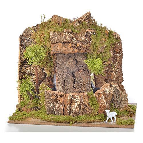 Holyart Wasserfall f?r Krippe 20x14x18cm