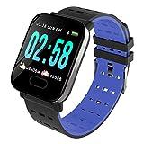 Fitness Tracker Orologio Fitness Braccialetto Schermo a Colori Watch Bracciale Cardiofrequenzimetro da Polso Smartwatch Pedometro Impermeabile IP68 Donna Uomo HR Sport Android iOS Smartphone