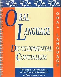 Oral Language: Developmental Continuum (First Steps)
