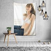 タペストリー 白石麻衣 インテリアおしゃれ壁掛け 壁飾り多機能 装飾布 ファブリック装飾用品 北欧風 装飾アート 模様替え 部屋 窓カーテン 新居祝い