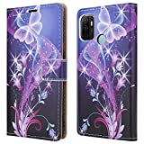 PIXFAB For Oppo A53 Leather Phone Case, Magnetic Closure