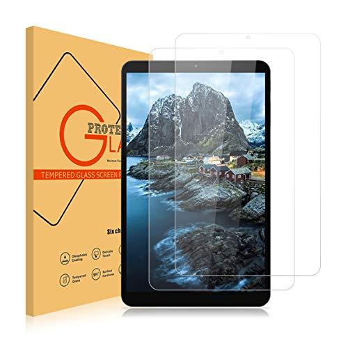ROVLAK Panzerglas Schutzfolie für LG G Pad 5 10.1 [9H Festigkeit][Anti-Kratzen][Anti-Fingerabdruck][2.5D R&e][HD Klar] Folie für LG G Pad 5 10.1