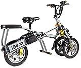 ICE Triciclo Eléctrico Plegable Q10 48V Auto-equilibrado lateralmente.
