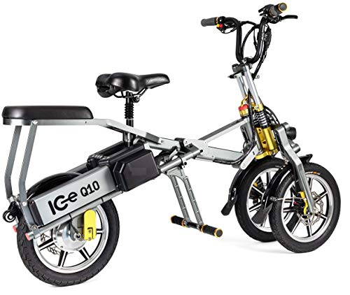 Electric and folding 3-wheel scooter ICe Q10 48V