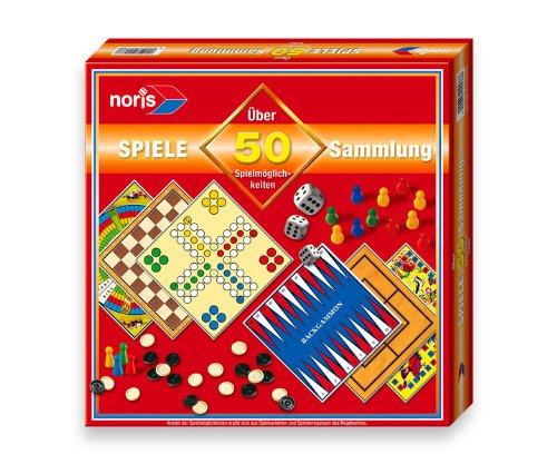 Noris 606112578 - Spielesammlung 50 Spielmöglichkeiten